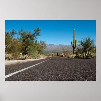 Desert Road 20x30 Print