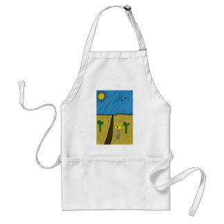 desert road adult apron