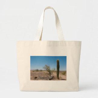 Desert Road and Cactus Bag