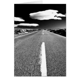 Desert Road Card