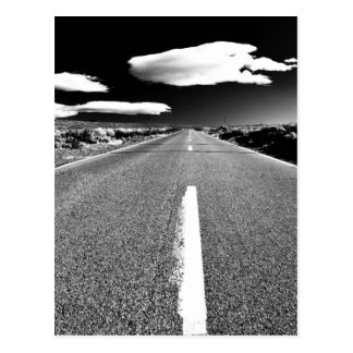 Desert Road Postcard