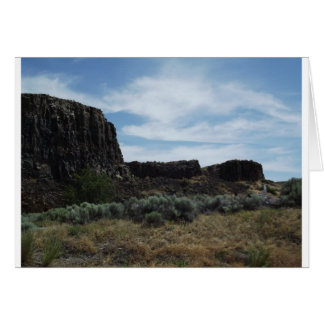 Desert Rock Buttes Card