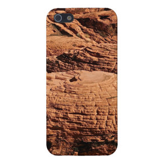 DESERT ROCK FORMATIONS, EROSION AT PLAY iPhone SE/5/5s CASE