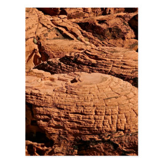 DESERT ROCK FORMATIONS, EROSION AT PLAY POSTCARD