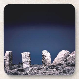 Desert rocks coasters