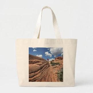 Desert Rocks - Grand Canyon - Thunder River Trail Large Tote Bag