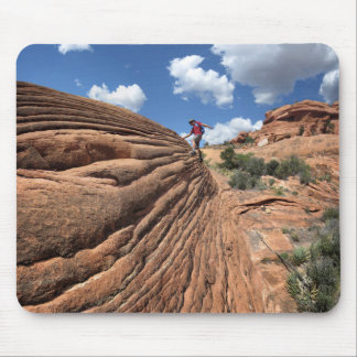 Desert Rocks - Grand Canyon - Thunder River Trail Mouse Pad