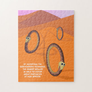 Desert Roller Snake Jigsaw Puzzle