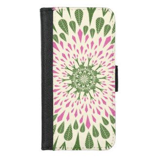 Desert Rose Adenium Burst iPhone 8/7 Wallet Case