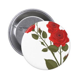 Desert Rose Button