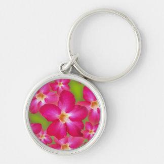 Desert Rose Collage Keychain