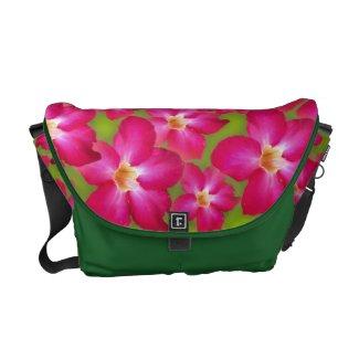 Desert Rose Collage Messenger Bag
