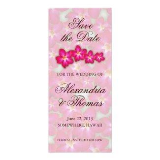 Desert Rose Collage Save the Date Invite