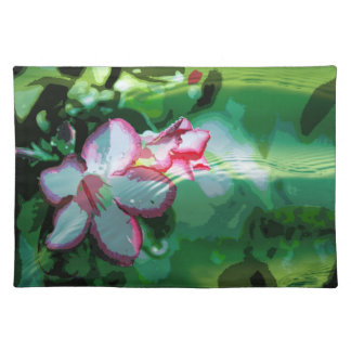 Desert Rose Flower in the Water design Placemat