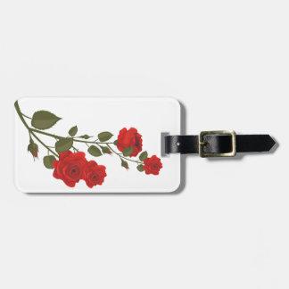 Desert Rose Luggage Tag