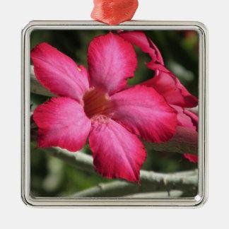 Desert Rose Metal Ornament
