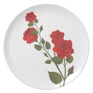 Desert Rose Plate