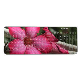 Desert Rose Wireless Keyboard