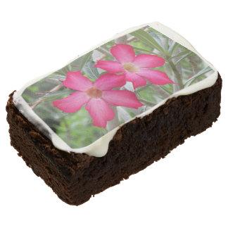 Desert Roses Chocolate Brownie