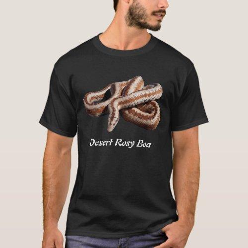 Desert Rosy Boa Basic Dark T_Shirt