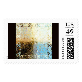 Desert Saga Postage Stamp
