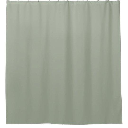 Desert Sage Green Design Shower Curtain