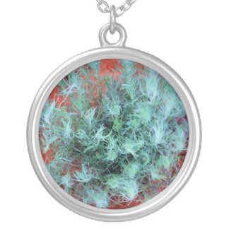Desert Sage Silver Plated Necklace