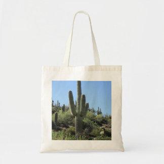 Desert Saguaro Tote Bag