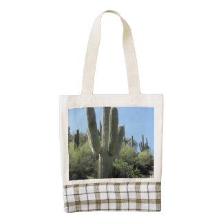 Desert Saguaro Zazzle HEART Tote Bag