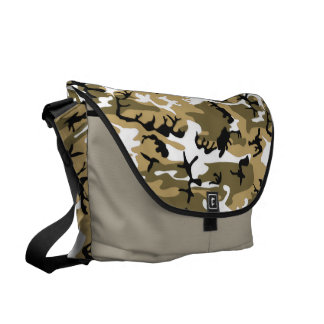 Desert Sand Camo Messenger Bag