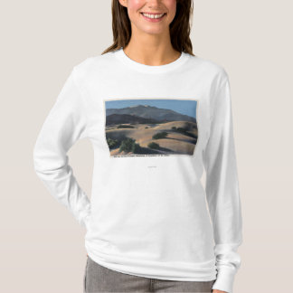 Desert Sand Dunes and Snow-Capped Mountains T-Shirt