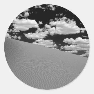 Desert Sands Classic Round Sticker