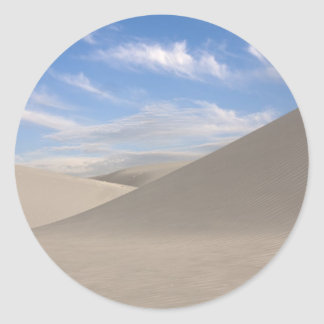 Desert Sands Classic Round Sticker