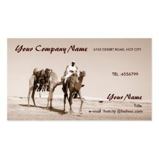 Desert Scene Double-Sided Standard Business Cards (Pack Of 100)