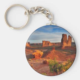 Desert Scene Key Chain