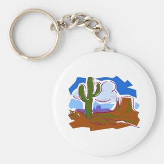 Desert Scene - Keychain