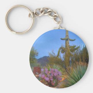 Desert Scene Keychain