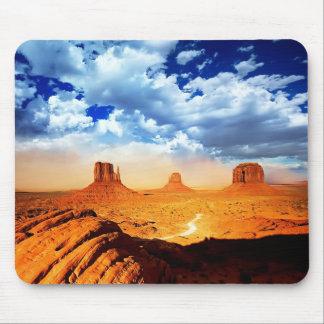 Desert Scene Mouse Pad
