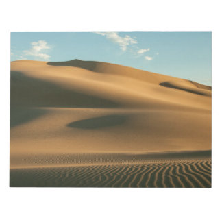 Desert scenery notepad