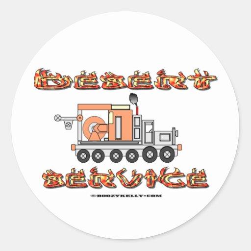 Desert Service, Oil Field Sticker