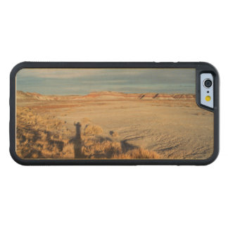 Desert Shadow Waving from Petrified Forest Carved Maple iPhone 6 Bumper Case