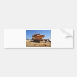 desert shipyard bumper sticker