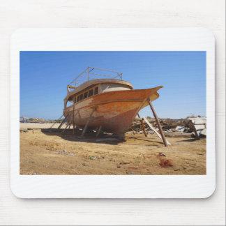 desert shipyard mouse pad