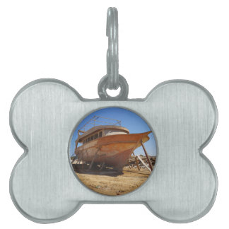 desert shipyard pet ID tag