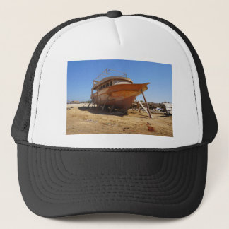 desert shipyard trucker hat