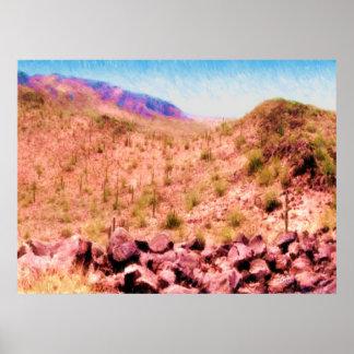 Desert Solitude Print