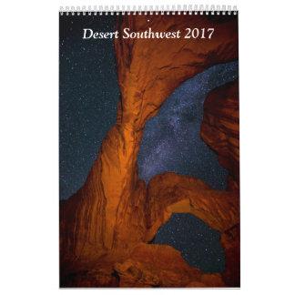 Desert Southwest 2017 Calendar