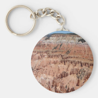 Desert Spikes Scene Keychain