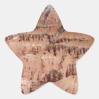 Desert Spikes Scene Star Stickers