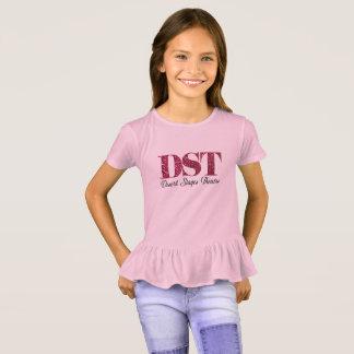 Desert Stages Glitter Ruffle T-shirt